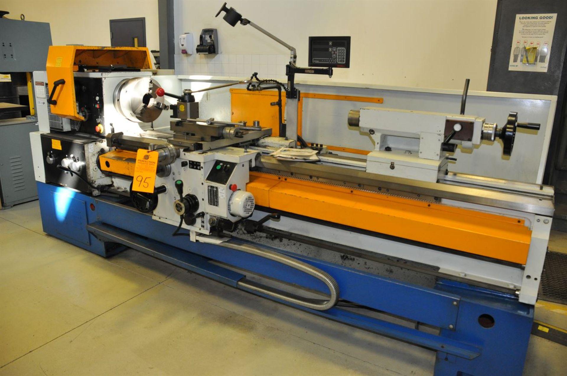 2012 SUMMIT 20X80B Gap Bed Engine Lathe, s/n 8052, w/ Taper Attachment, Quick Change Tool Post,
