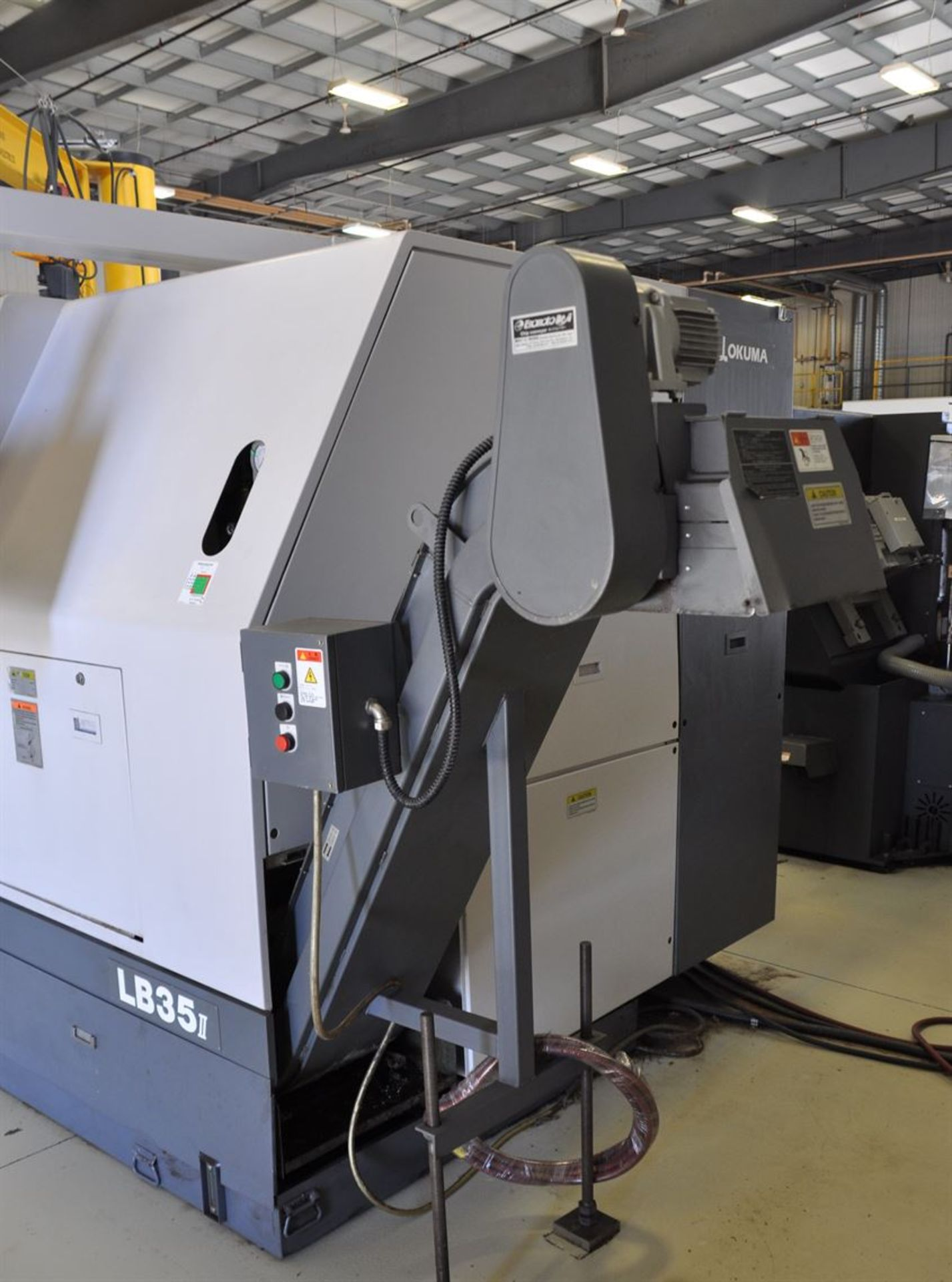 "2012 OKUMA LB35 II Turning Centers, s/n 166500 w/ OSP-P200L Control, 7"" Bore, SCHUNK 600 mm 4 Jaw - Image 7 of 10"