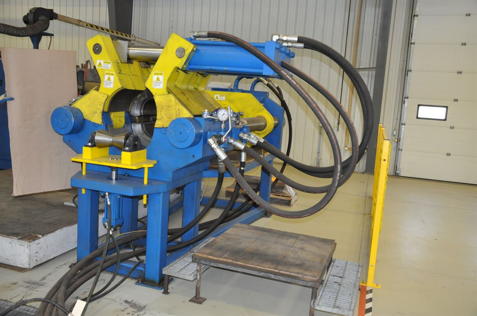 2012 MECHANICAL REPAIR & ENGINEERING INC. 500 Ton Horizontal Hydraulic Swaging Press, s/n 21587, - Image 2 of 5