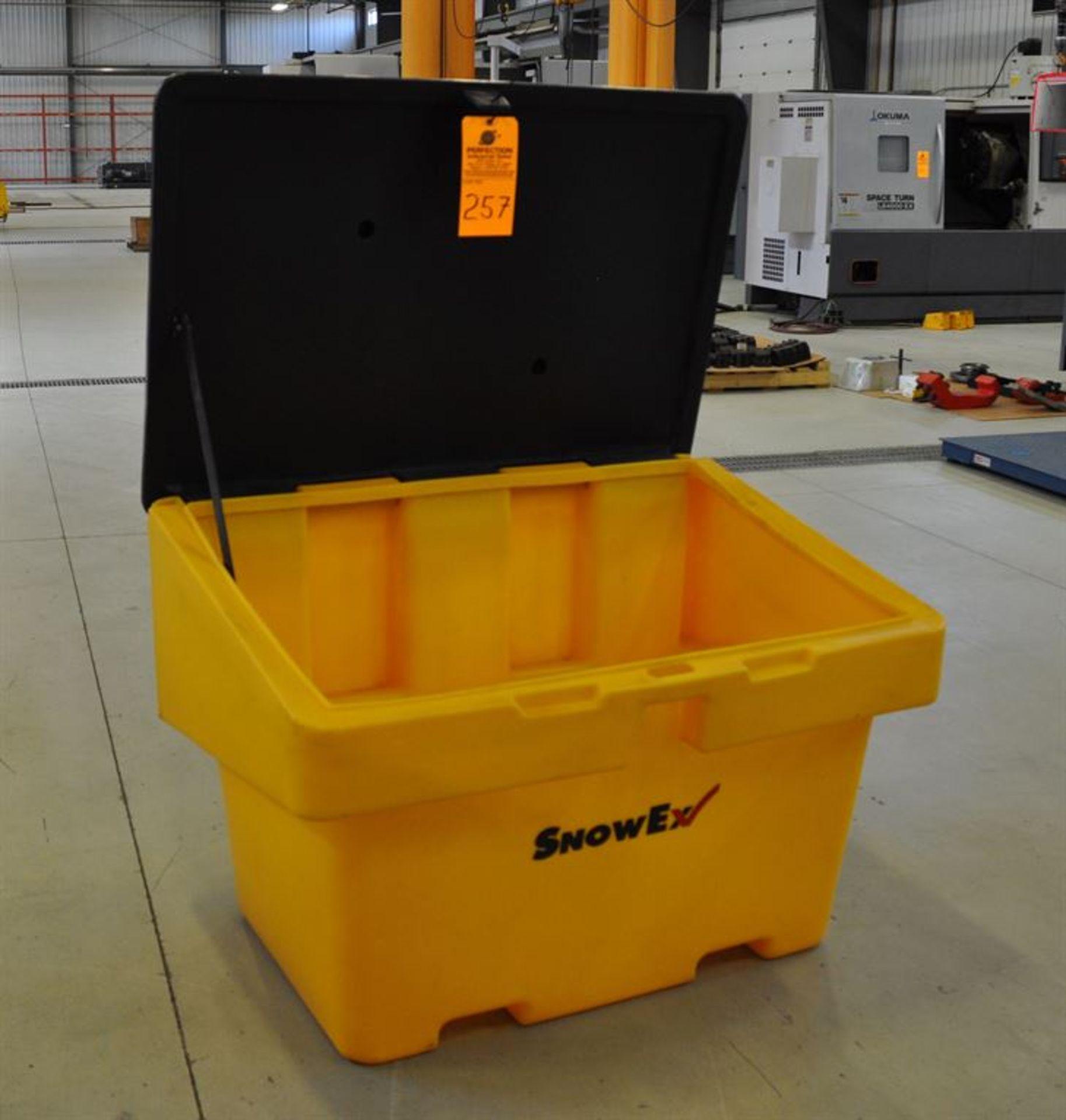 SnowEx Salt/sand/gravel Storge Bin