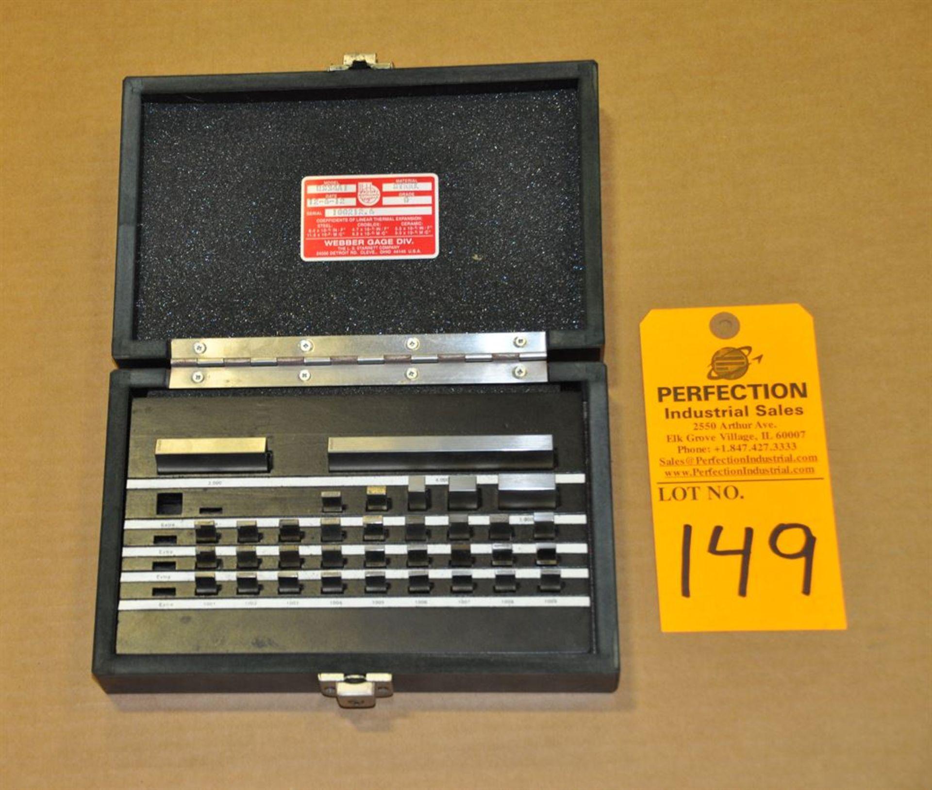 Starrett Webber RS34A1 Grade 0 Steel Gage Blocks, shop floor use