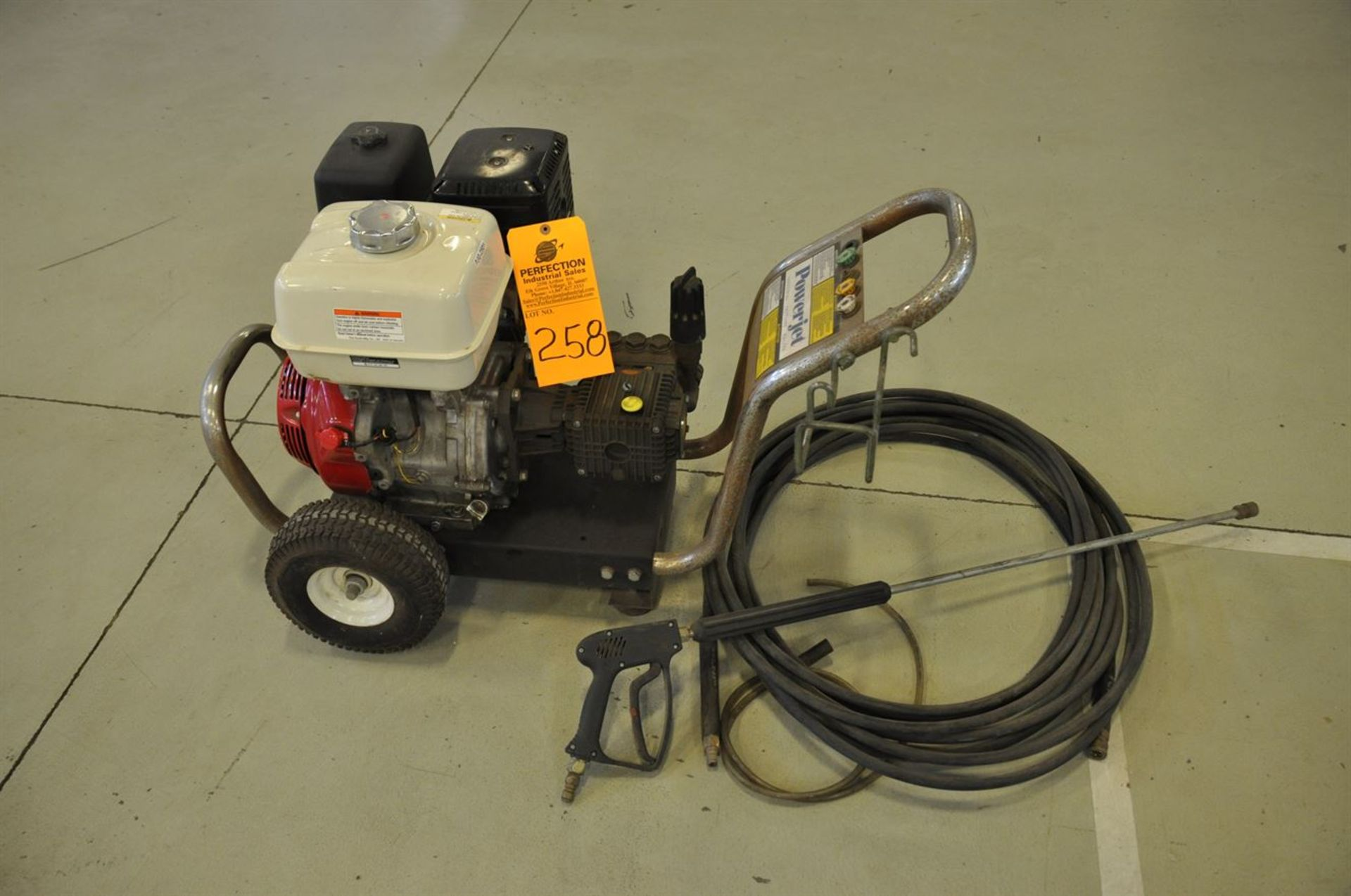 PowerJet/Honda, PJG-2501, Industrial Pressure washer