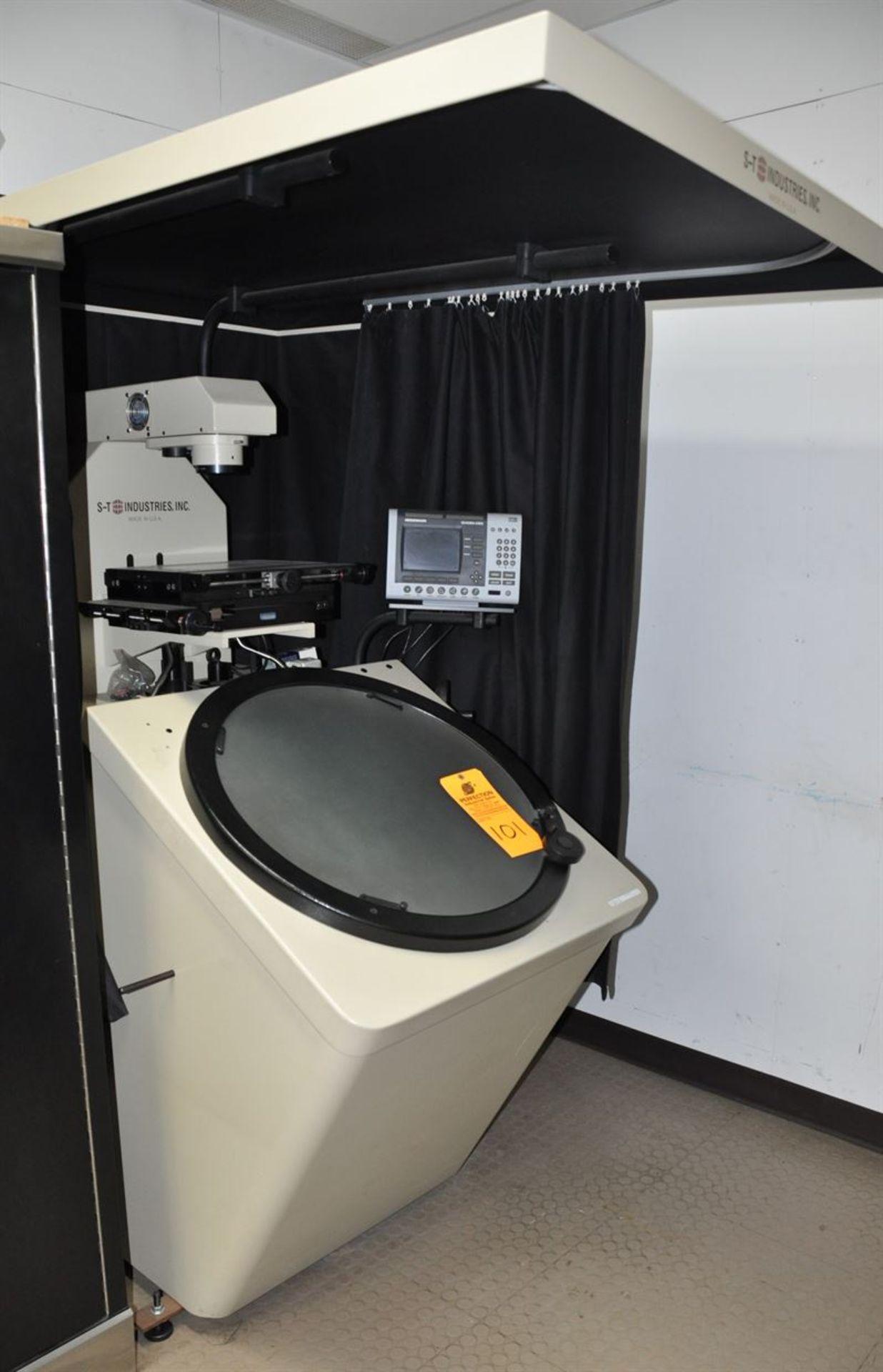 "2012 SCHERR TUMICO 20-2400 24"" Optical Comparator w/ 20x, 50x, 100x magnification, s/n K123201, w/"