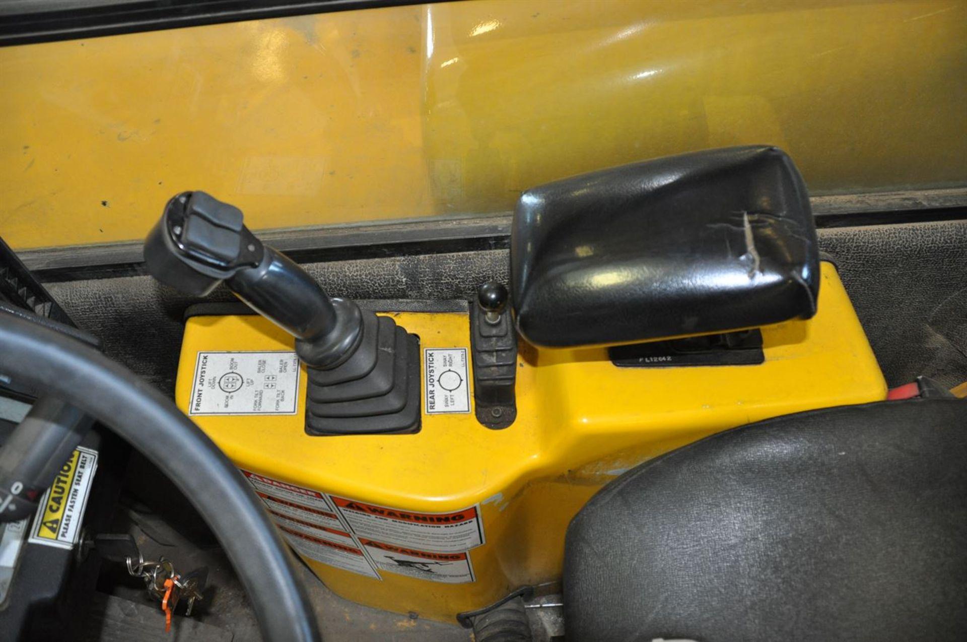 2012 PETTIBONE 1530 EXTENDO Diesel Pipe TeleHandler, s/n EX10230-12, w/ Pipe Clamp Forks, Max Load – - Image 7 of 7