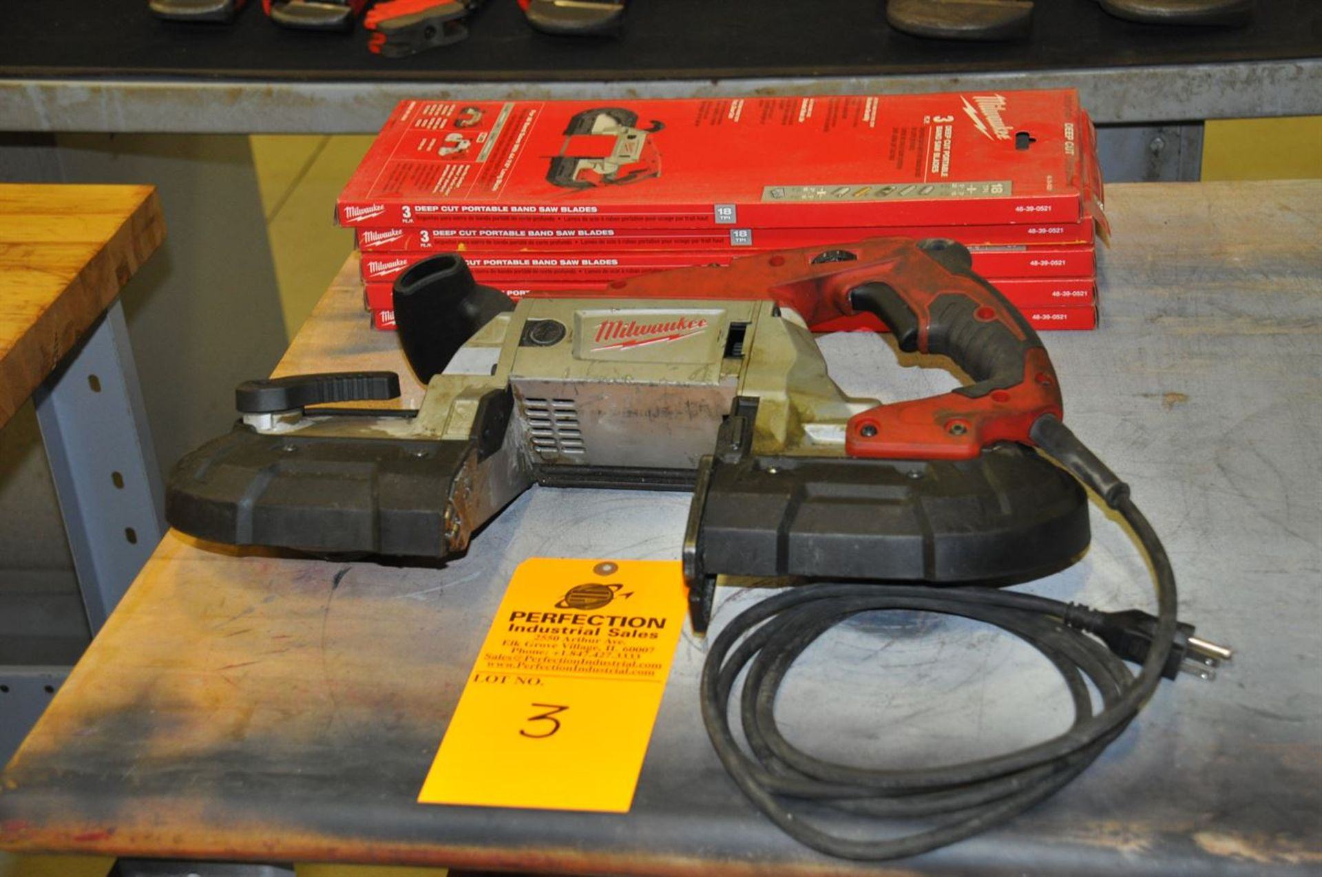 Milwaukee 6232-20 Deep Cut Band Saw