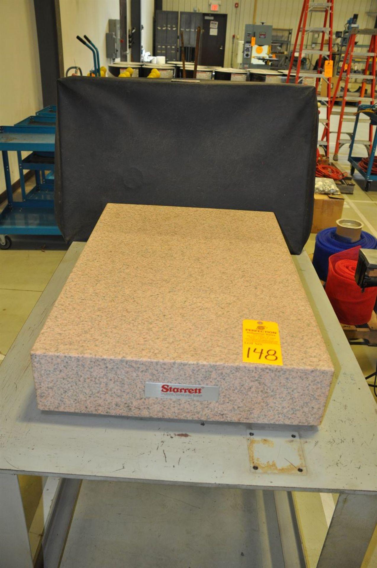 """Starrett 24""""x36"""" Granite Inspection Block, Grade B"""
