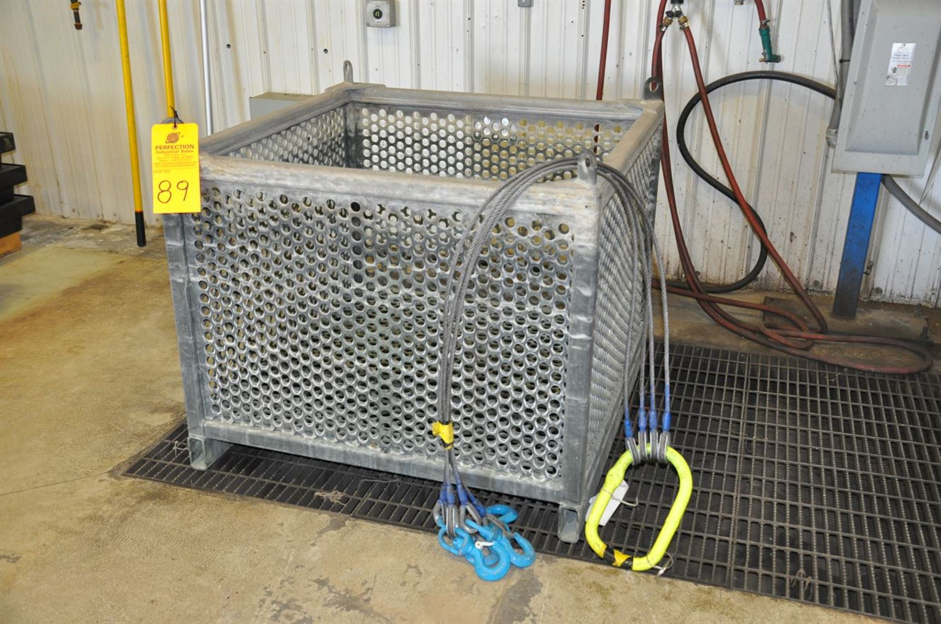 """2015 CUSTOM Stainless Steel Jacketed Tank Phosphatizing System, w/ (1) 48"""" Cube Stainless Steel - Image 4 of 4"""