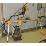 DeWalt Mitre Saw w/ stand and Vacuum