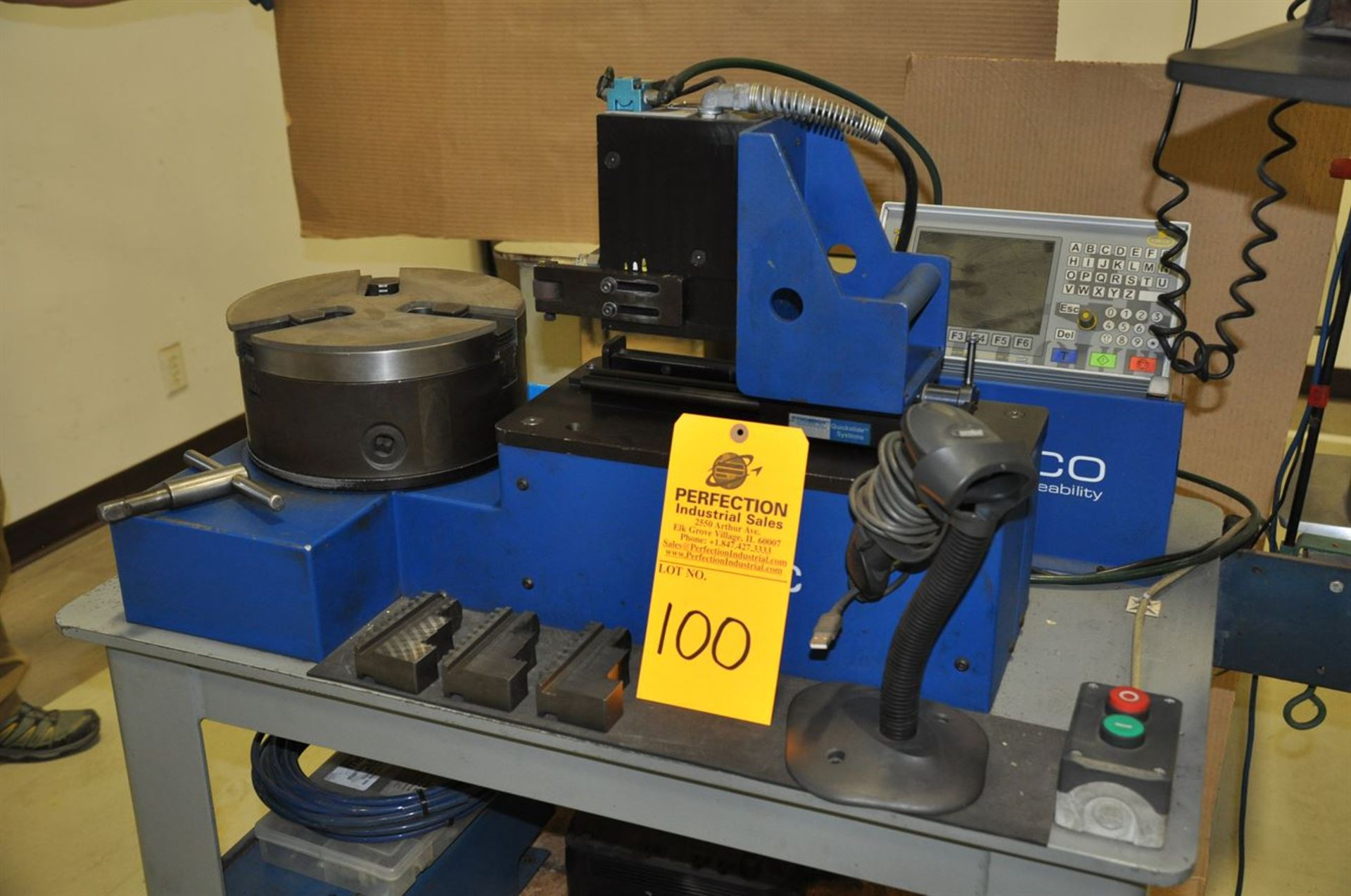 2011 MECCO MC2000 SuperFast Marking System, s/n 119982, w/ COUTH MC2000 T2 Controller, Bar Code - Image 2 of 3