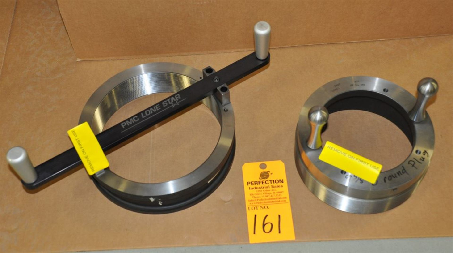"""PMC Lone Star 9.625"""" 8-round ring and plug gages"""
