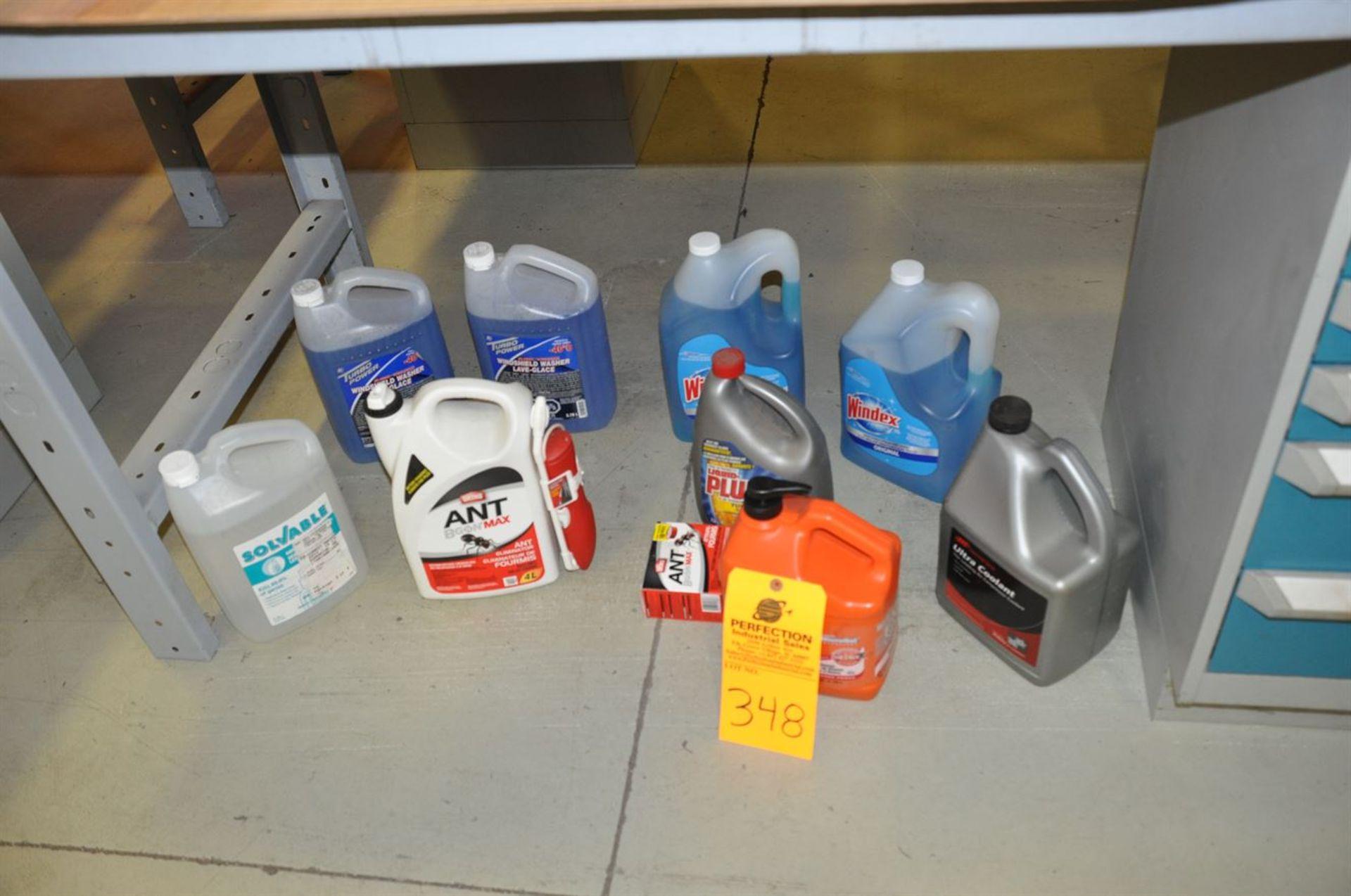 Mixed lot of Liquid Products