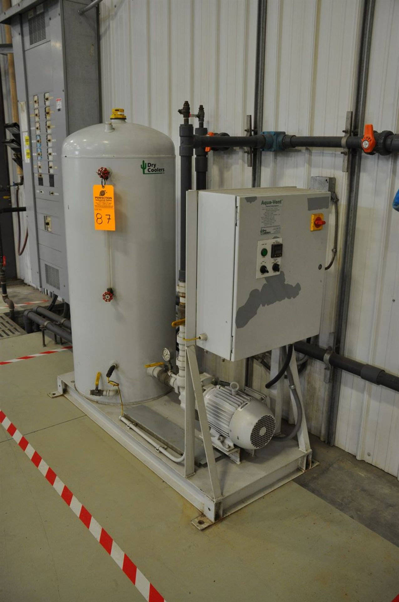 2012 BONE FRONTIER COMPANY CNC TS5L 75 3-10SUM Induction Power Stress Relieving Unit, s/n 730, w/ - Image 5 of 6