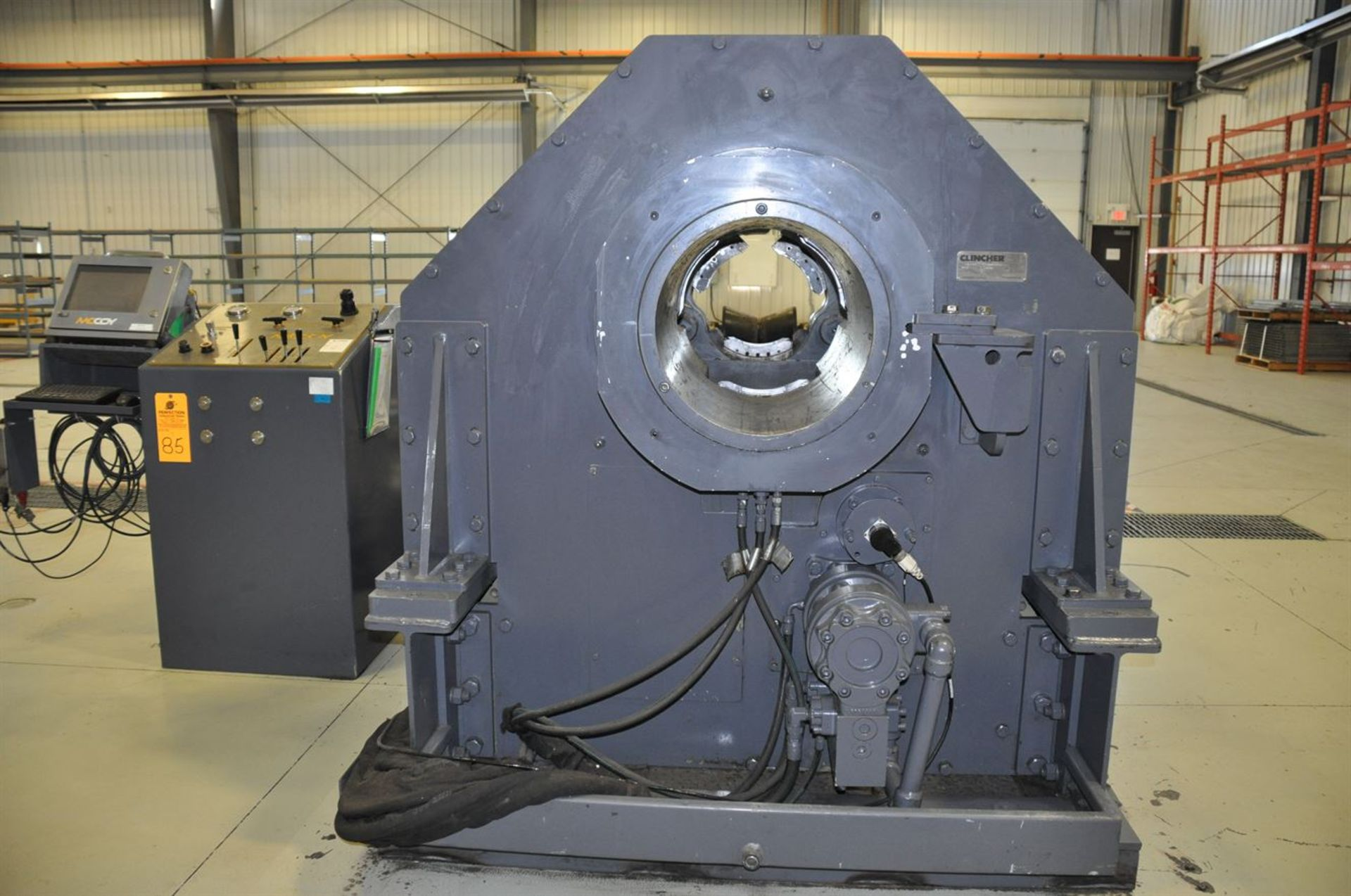 "2012 McCOY CLEBU 1500 15"" Type III Bucking Unit, s/n 8988, w/ PLC Control, Size Range: 15"" – 2. - Image 3 of 6"