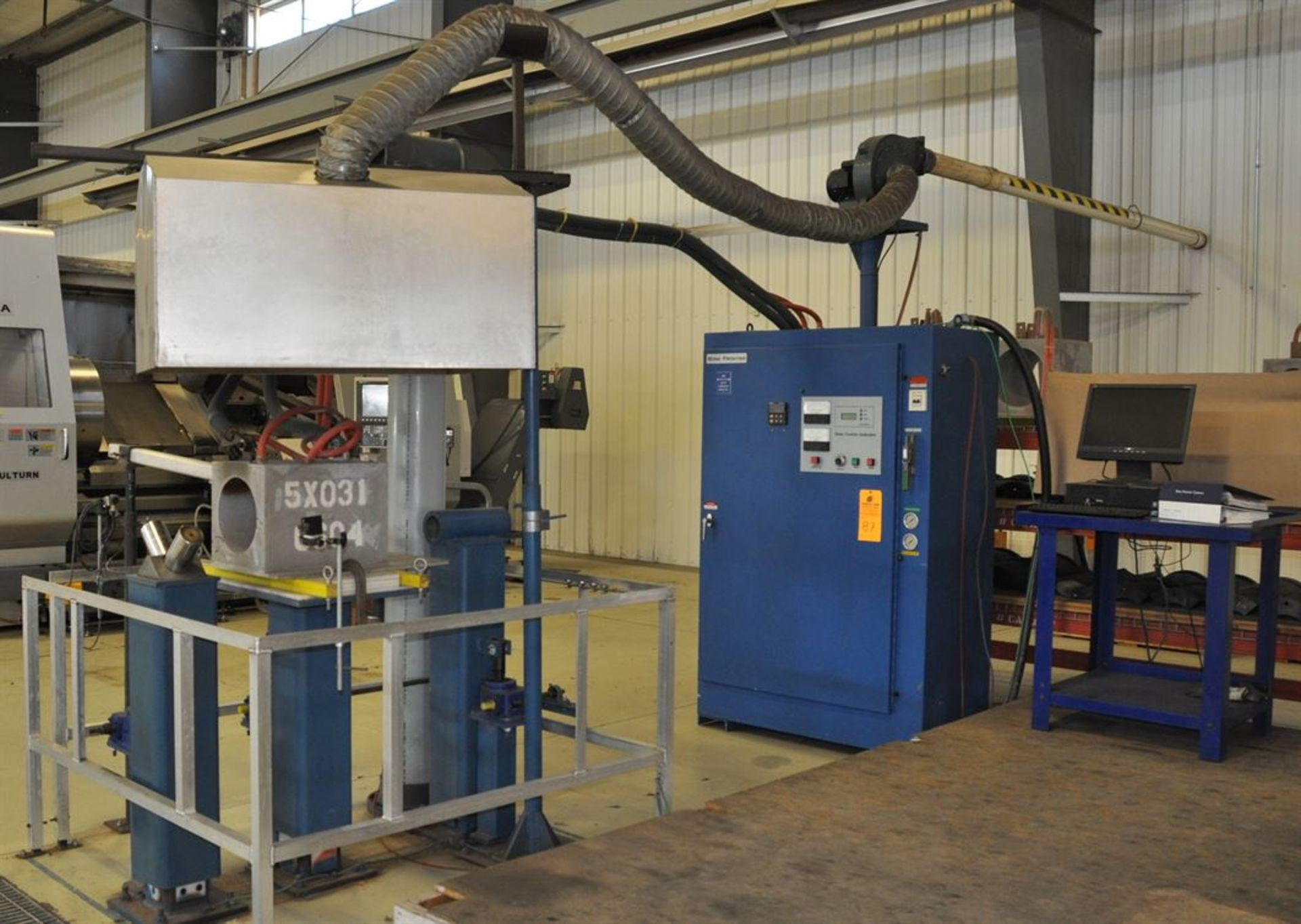 2012 BONE FRONTIER COMPANY CNC TS5L 75 3-10SUM Induction Power Stress Relieving Unit, s/n 730, w/