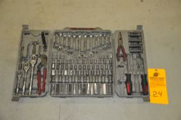 Crescent Wrench and Socket set, near complete