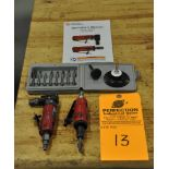 Chicago Pneumatic CP Mini Die Grinder Set, w/ carbide burr set