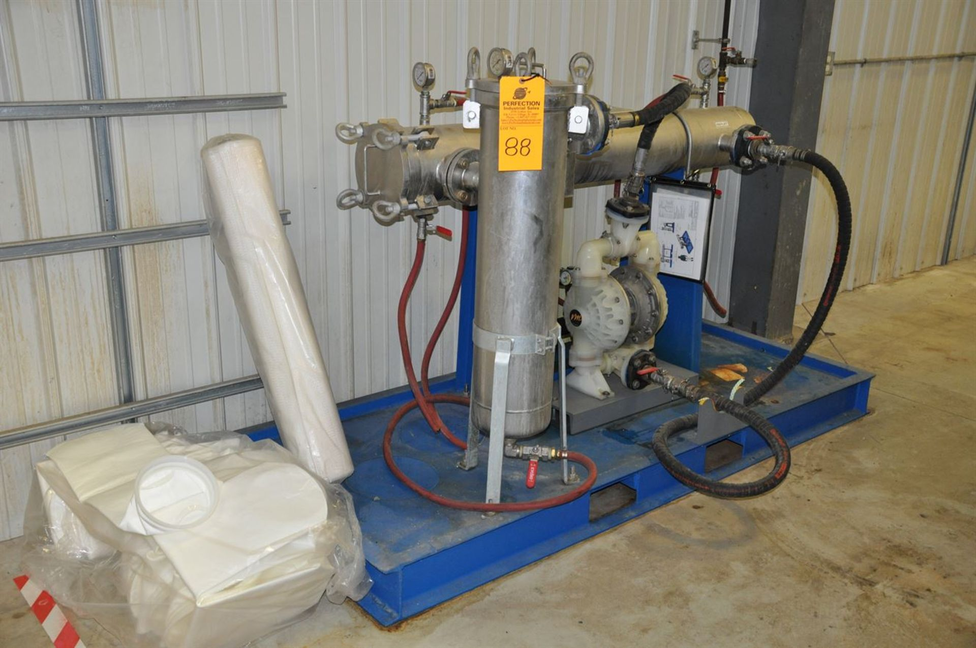"""2015 CUSTOM 6 Stainless Steel Jacketed Tank Phosphatizing System, w/ (6) 48"""" Cube Stainless Steel - Image 3 of 5"""