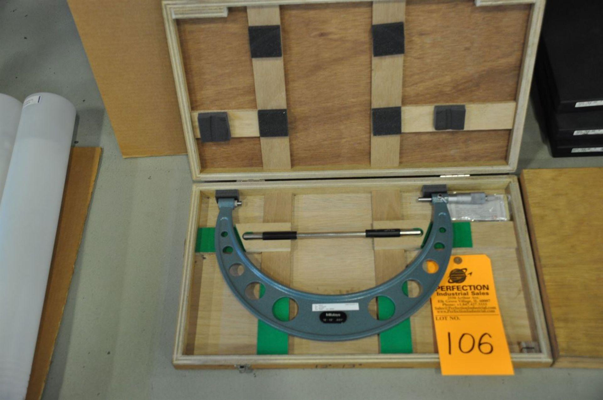 "Mitutoyo 12-13"", 0.001"" res, OD micrometer set"