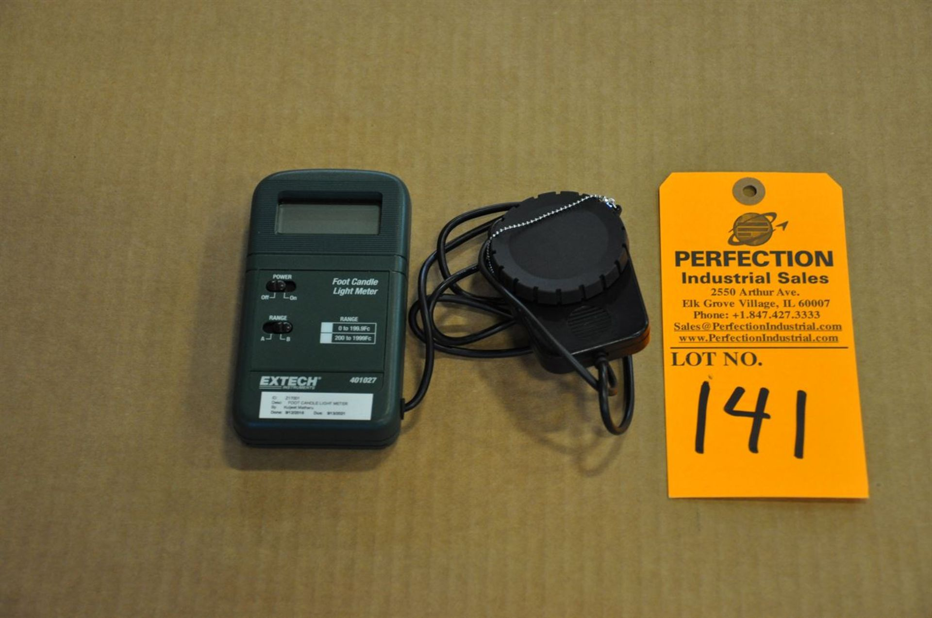 EXTECK foot candle light meter