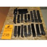 "1.25"" Assorted Carbide Tool Holders"