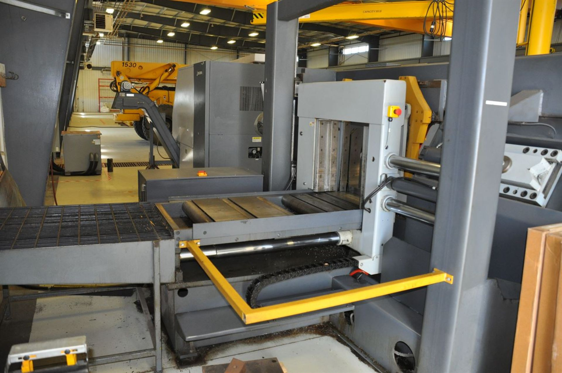 "2012 HYD-MECH H-22A Automatic Horizontal Bandsaw, s/n C0312364S, w/ 22""x 22"" Cap., 10 hp, Auto - Image 3 of 4"