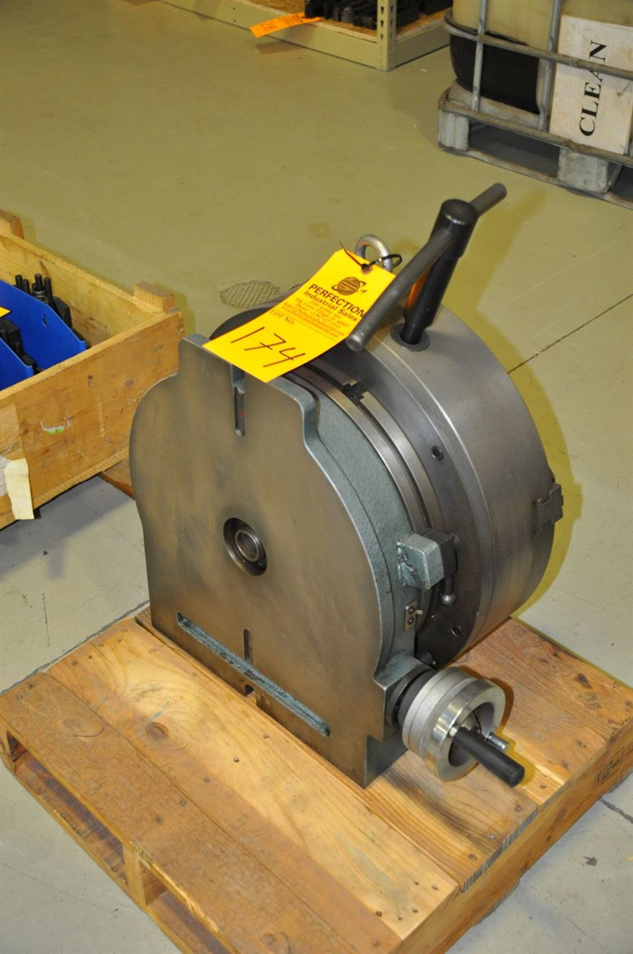"""Yuso 20"""" 3 Jaw Rotary Indexing Chuck - Image 2 of 2"""
