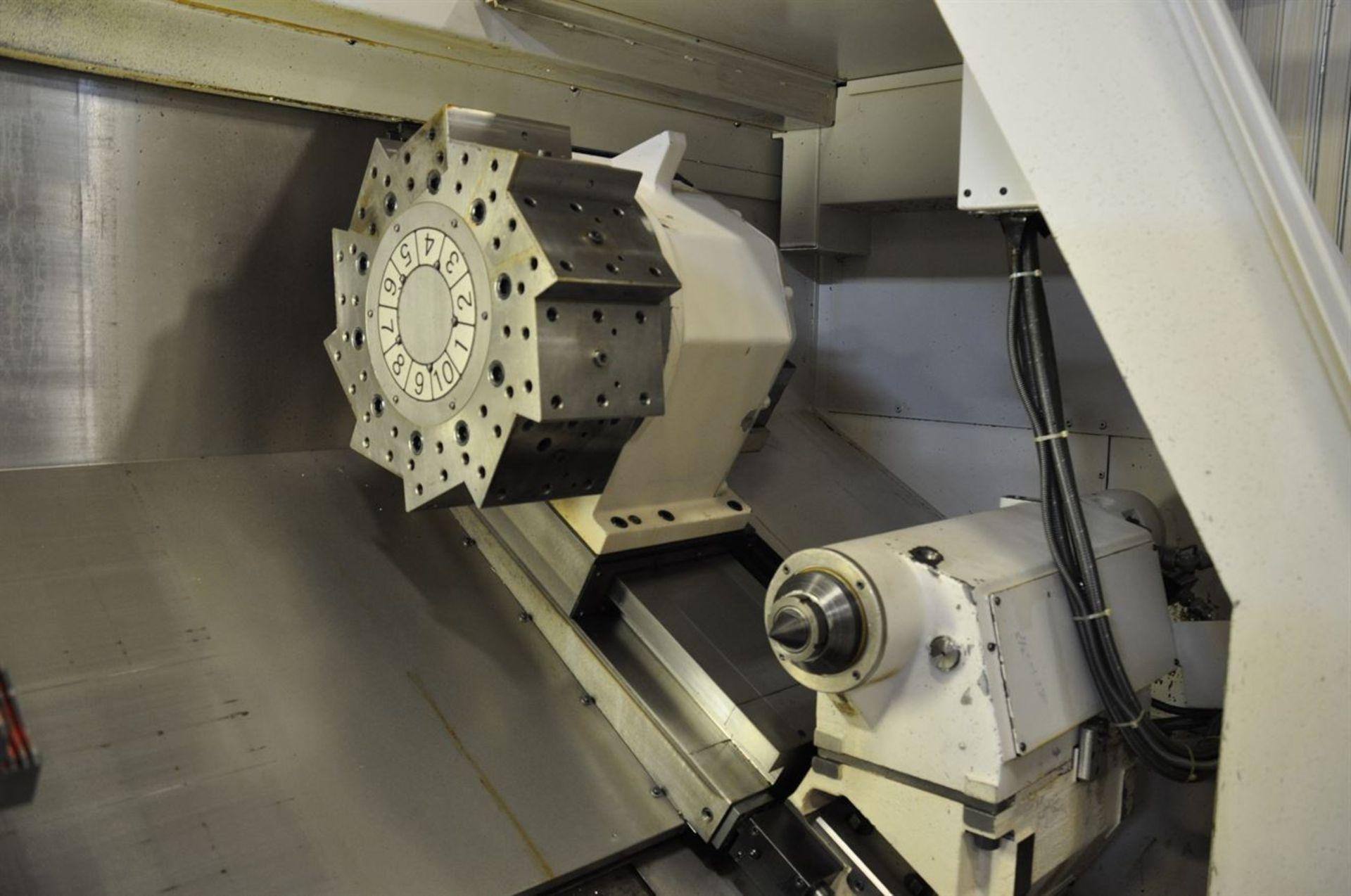 "2012 OKUMA LB35 II Turning Centers, s/n 163796, w/ OSP-P200L Control, 7"" Bore, SCHUNK 600 mm 4 Jaw - Image 4 of 11"