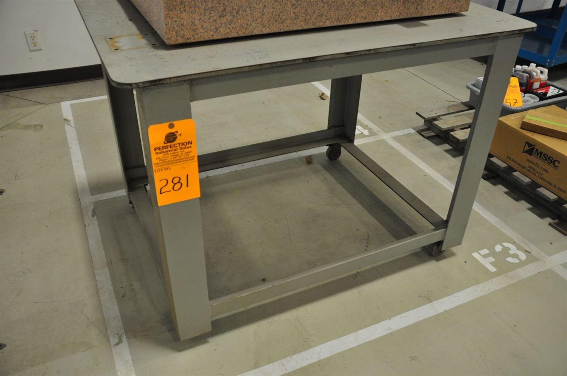 """Heavy Duty Steel Table (1/2"""" plate), 36""""x48"""""""