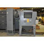 2012 MOD-U-BLAST P4836-6FM Shot Blast Cabinet, s/n 30595, w/ Dust Collector