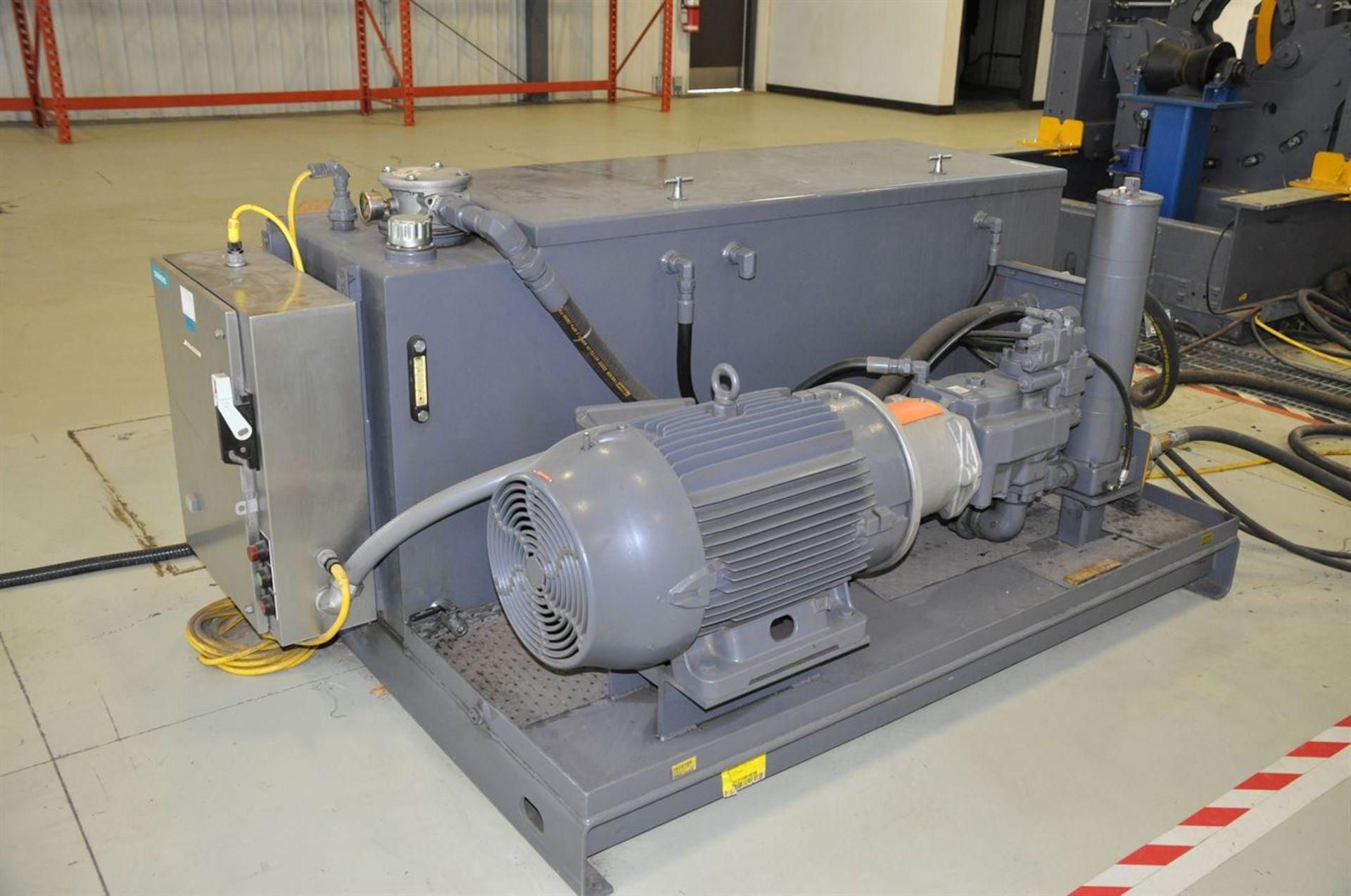 "2012 McCOY CLEBU 1500 15"" Type III Bucking Unit, s/n 8988, w/ PLC Control, Size Range: 15"" – 2. - Image 4 of 6"