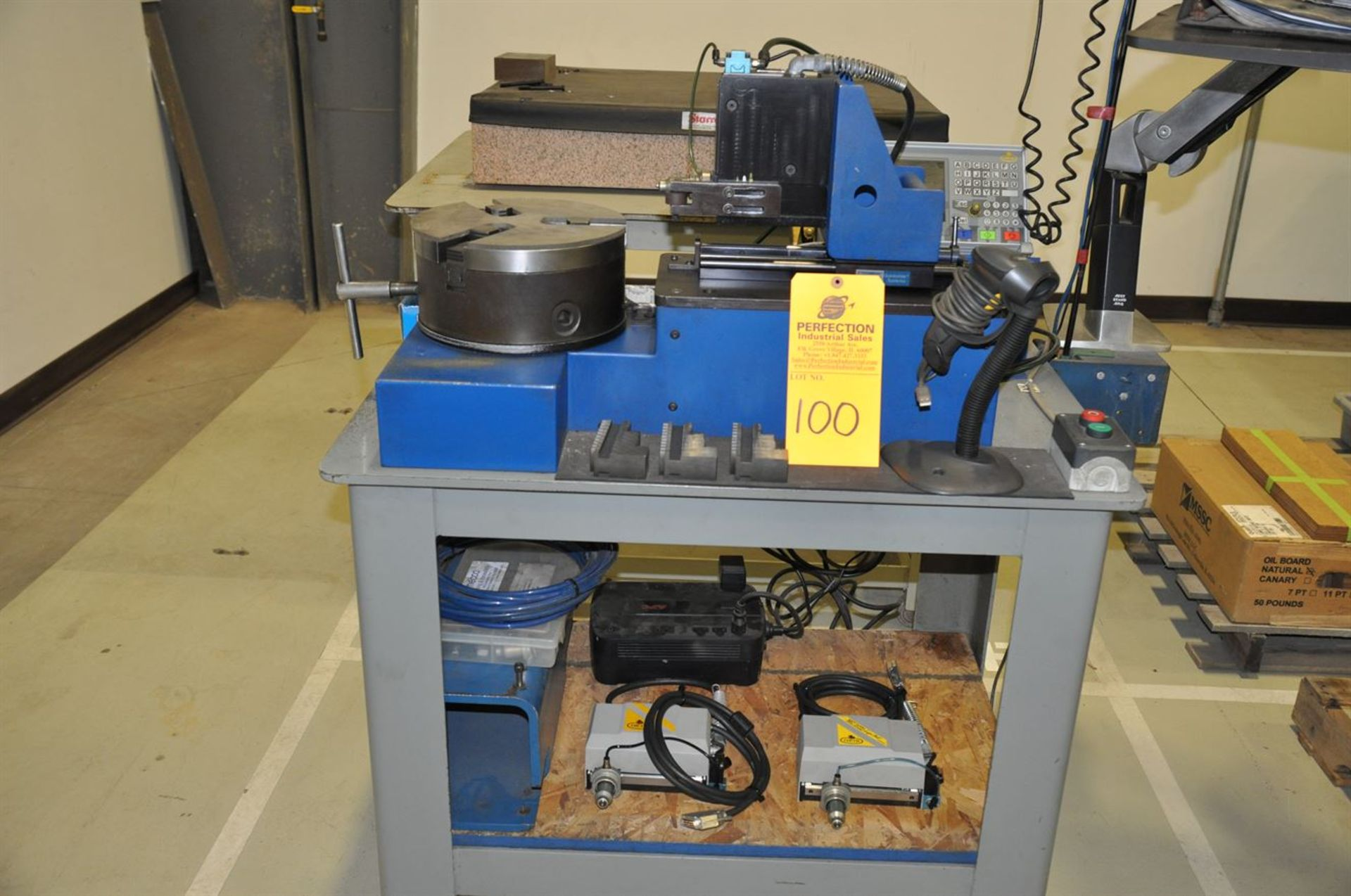 2011 MECCO MC2000 SuperFast Marking System, s/n 119982, w/ COUTH MC2000 T2 Controller, Bar Code