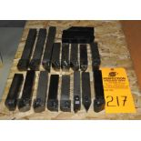 "1.25"" Assorted Carbide Tool Holders"