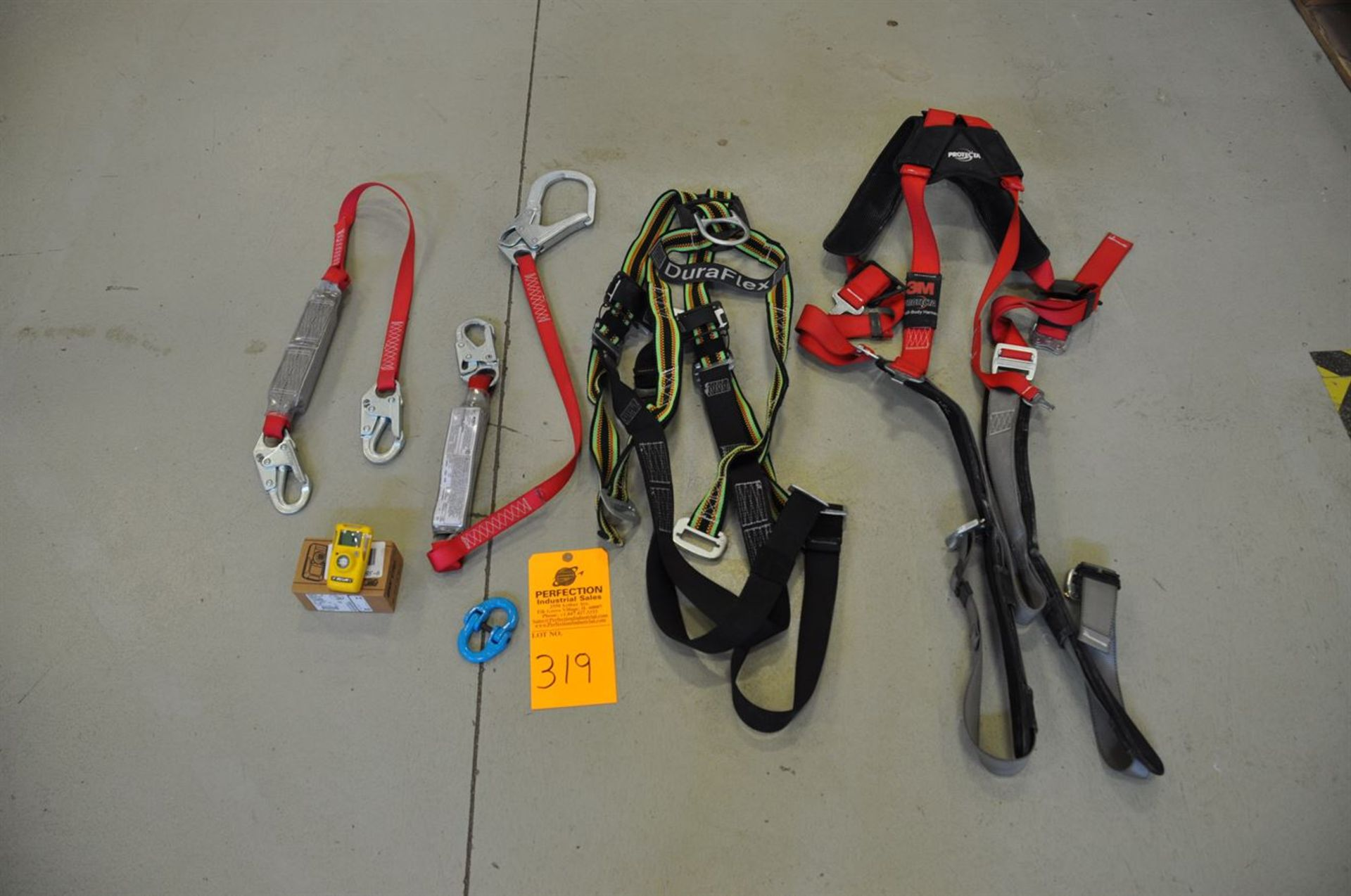 Assorted safety lanyards