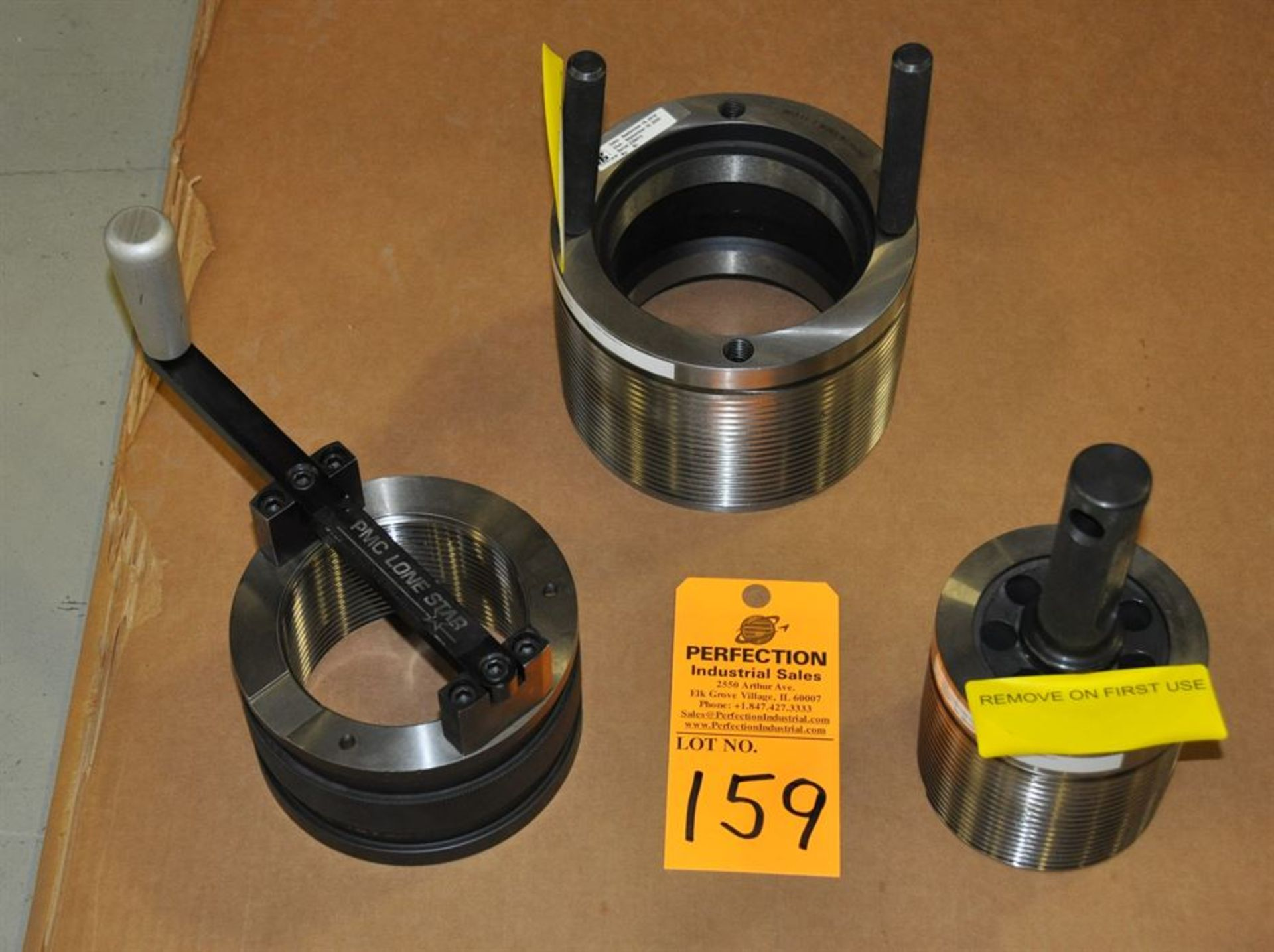 """PMC Lone Star 4.5"""" Buttress ring and plug gages, and 7"""" """"import"""" plug"""