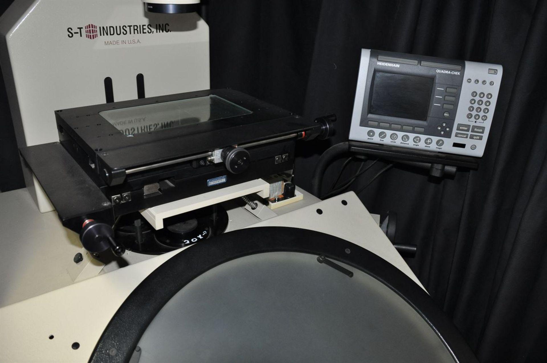 "2012 SCHERR TUMICO 20-2400 24"" Optical Comparator w/ 20x, 50x, 100x magnification, s/n K123201, w/ - Image 2 of 2"