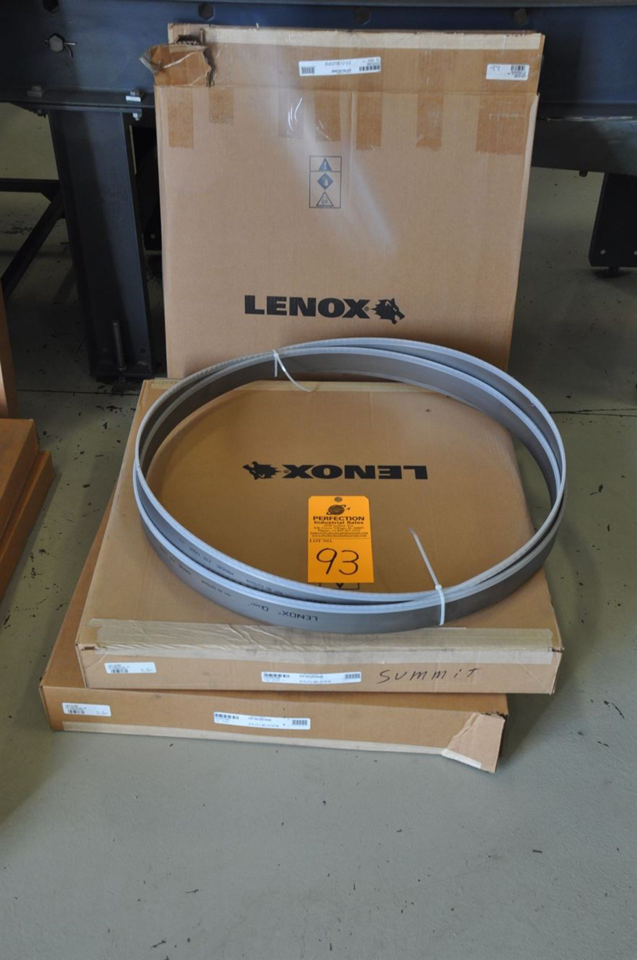 "Lenox (3) New Bandsaw Blades 22' 6"" x 2"" x .063 x 2/3 VP VR"