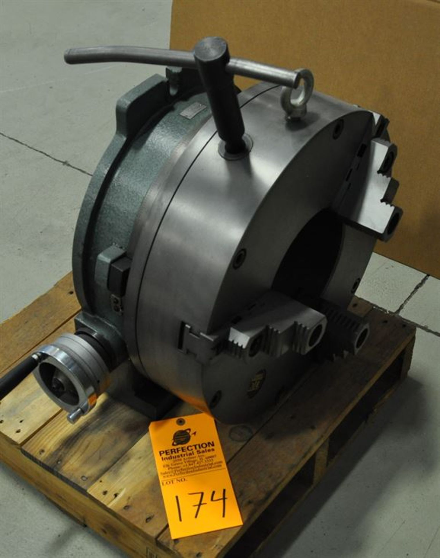 """Yuso 20"""" 3 Jaw Rotary Indexing Chuck"""