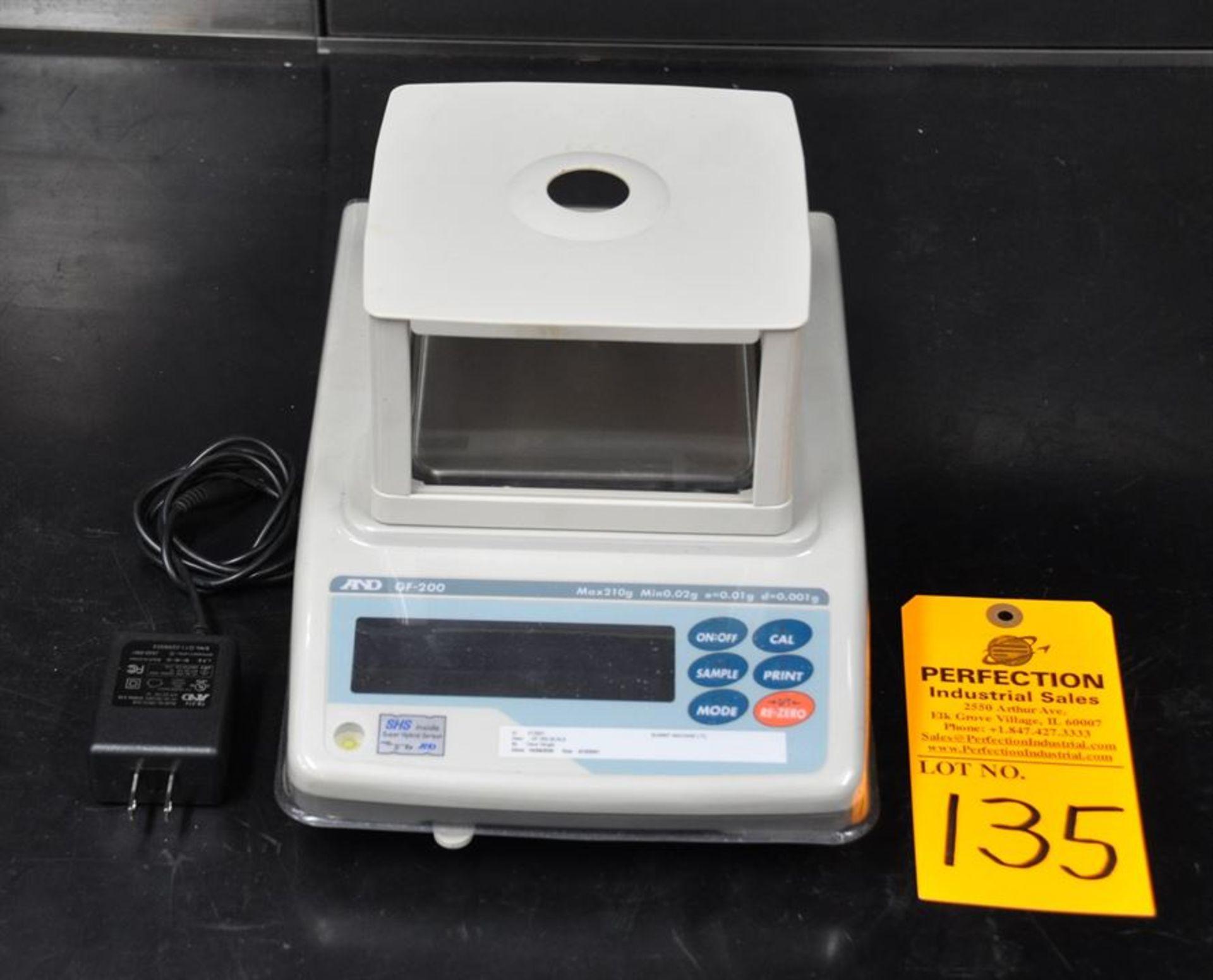 AND GF200 digital scale