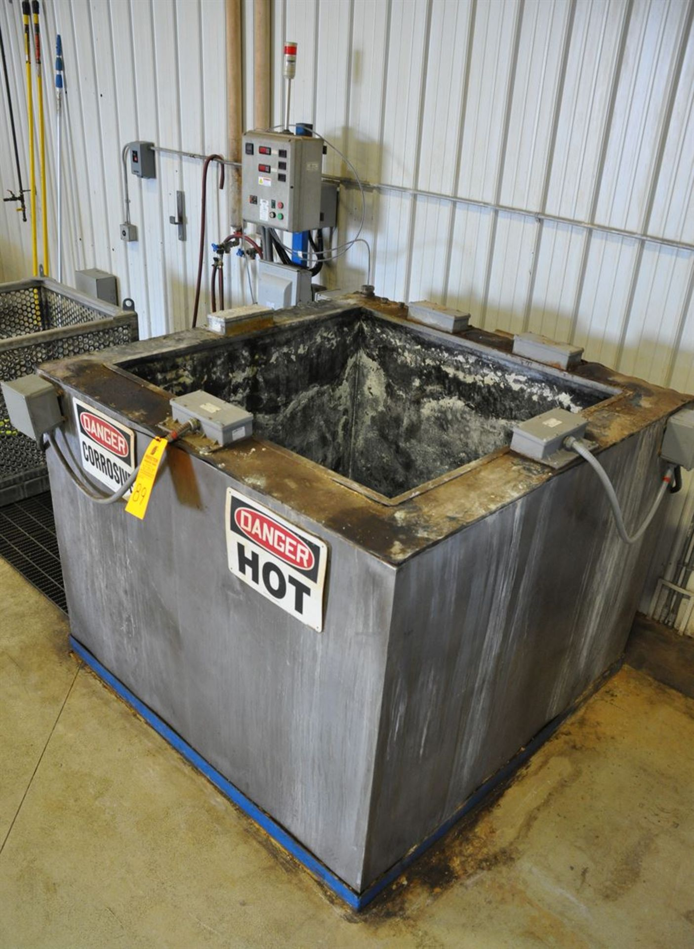 """2015 CUSTOM Stainless Steel Jacketed Tank Phosphatizing System, w/ (1) 48"""" Cube Stainless Steel - Image 2 of 4"""