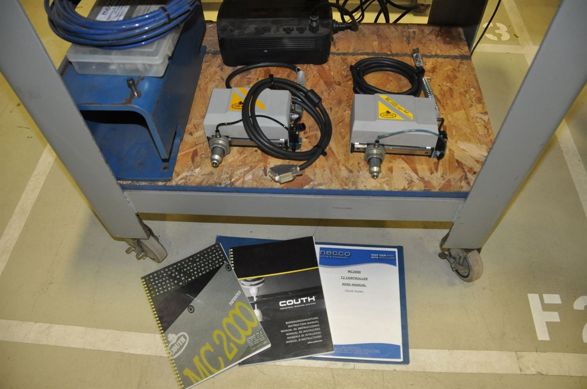 2011 MECCO MC2000 SuperFast Marking System, s/n 119982, w/ COUTH MC2000 T2 Controller, Bar Code - Image 3 of 3