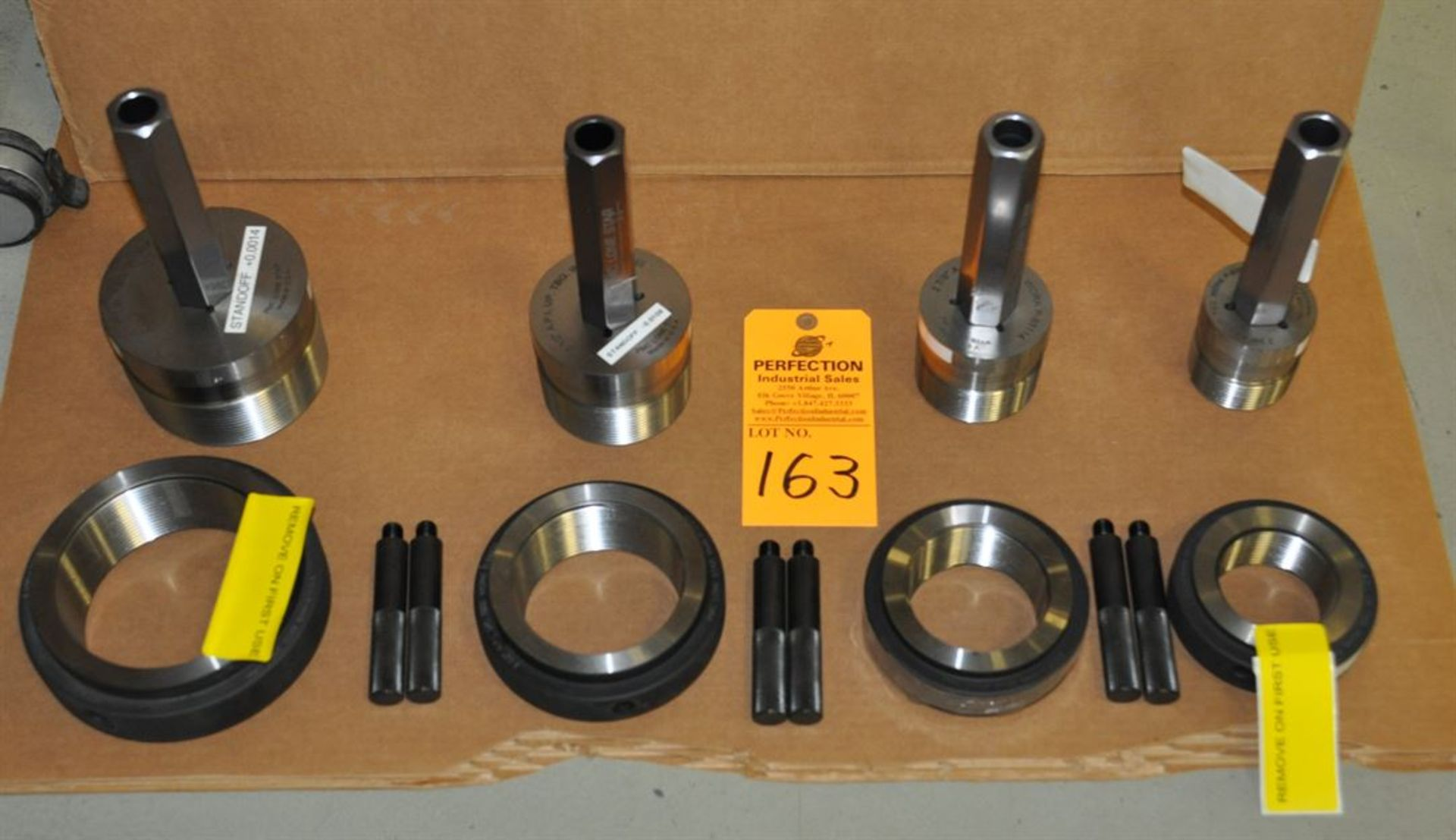 "PMC Lone Star 2.375"", 2.875"", 3.5"" and 4.5"" EUE ring and plug gages"