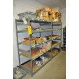 Storage shelving, 2 sections