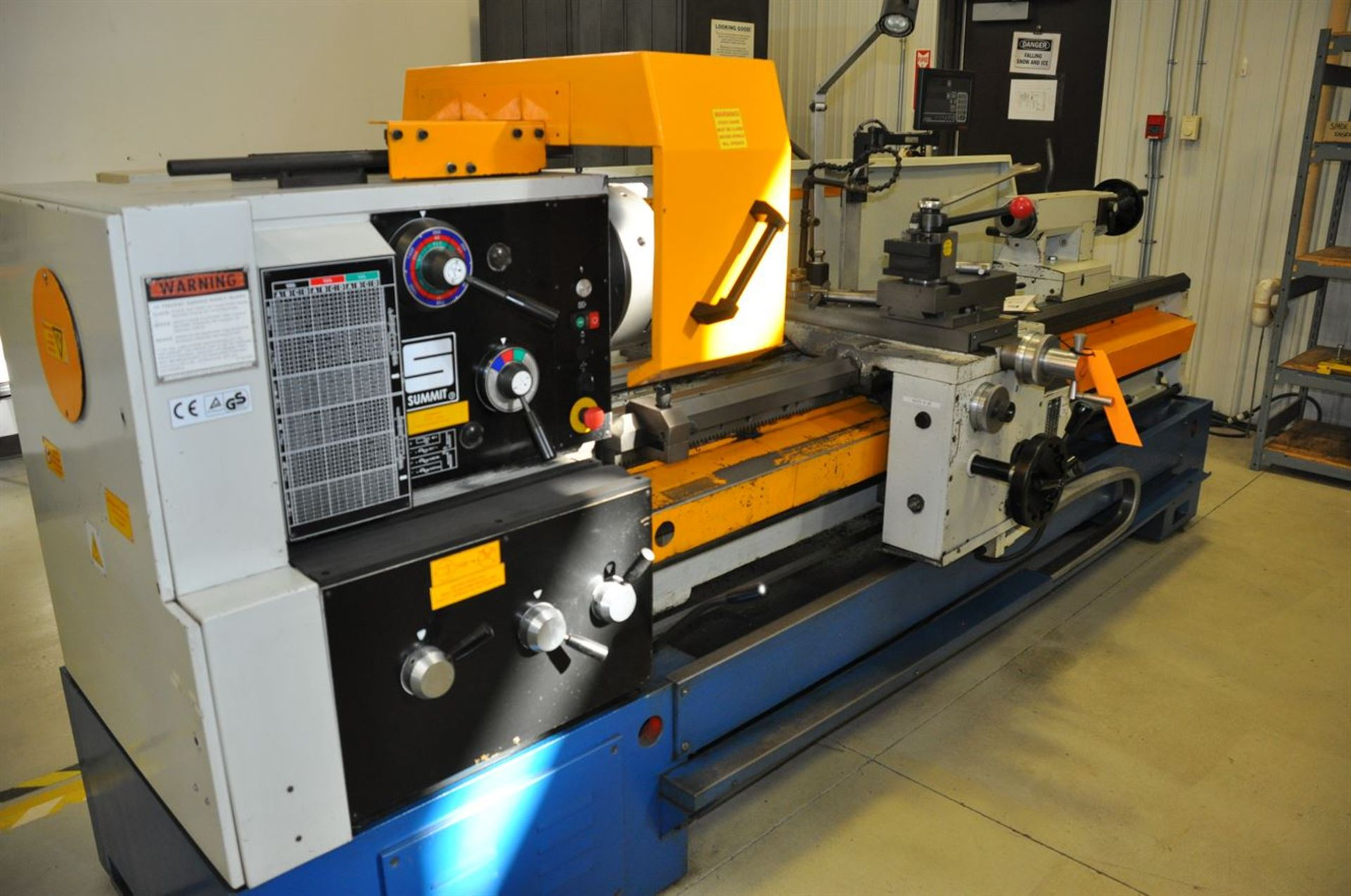 2012 SUMMIT 20X80B Gap Bed Engine Lathe, s/n 8052, w/ Taper Attachment, Quick Change Tool Post, - Image 2 of 5