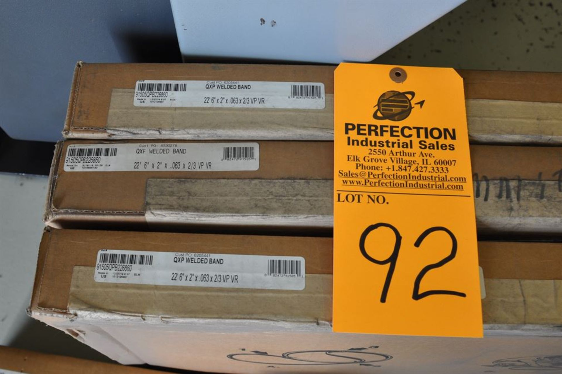 "Lenox (3) New Bandsaw Blades 22' 6"" x 2"" x .063 x 2/3 VP VR - Image 2 of 2"