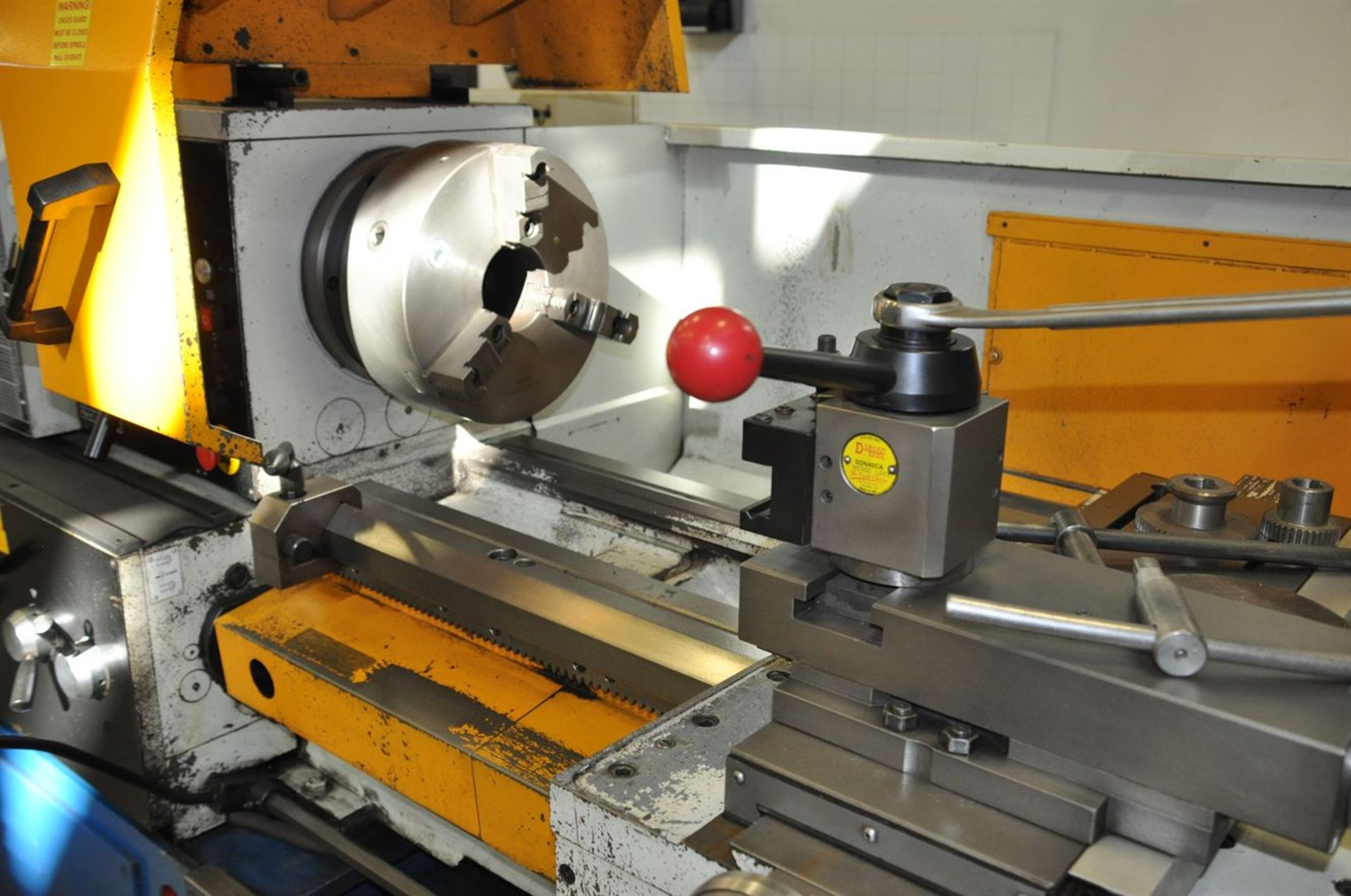 2012 SUMMIT 20X80B Gap Bed Engine Lathe, s/n 8052, w/ Taper Attachment, Quick Change Tool Post, - Image 4 of 5