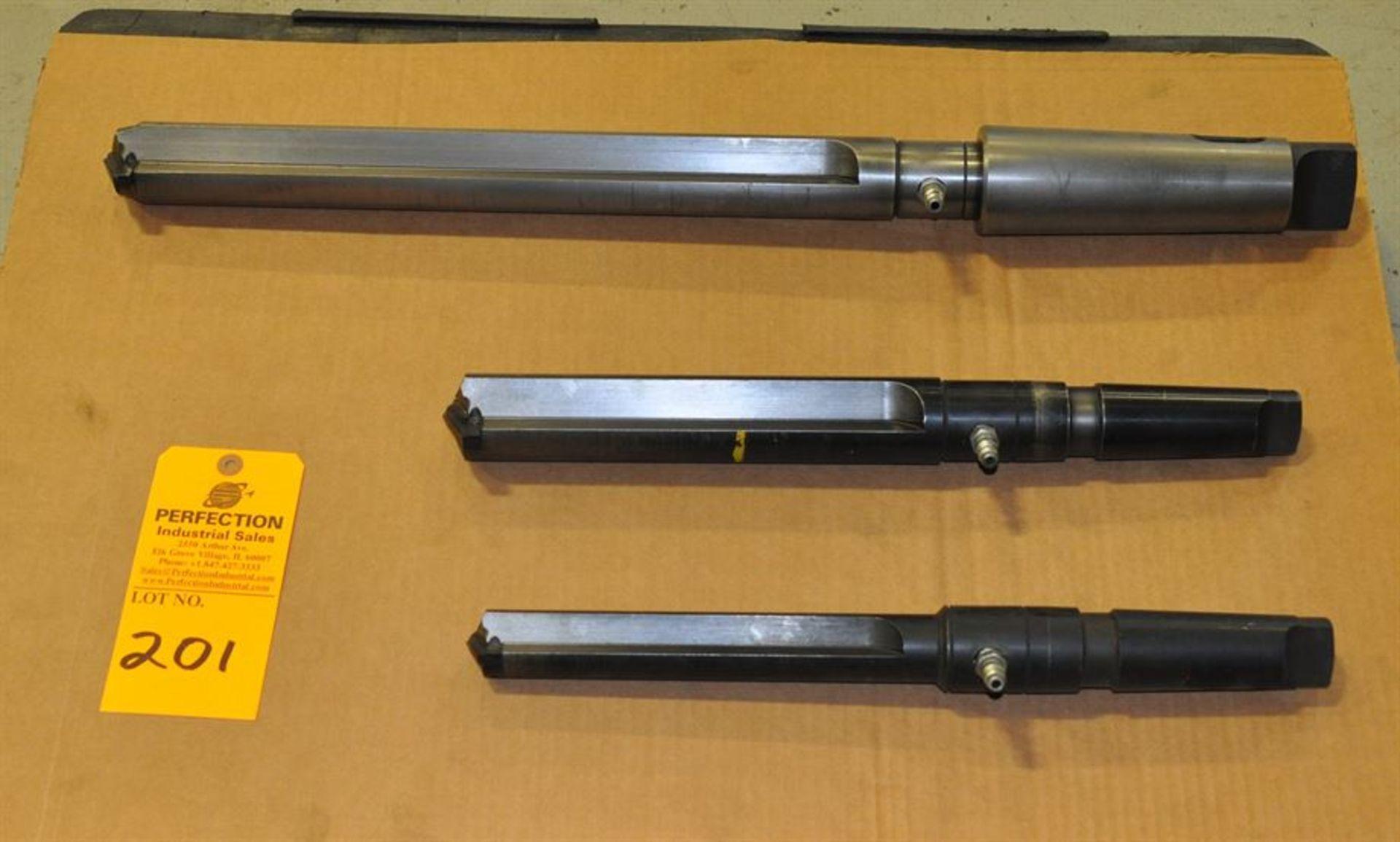 (3) Through Coolant 5 MT Spade Drills