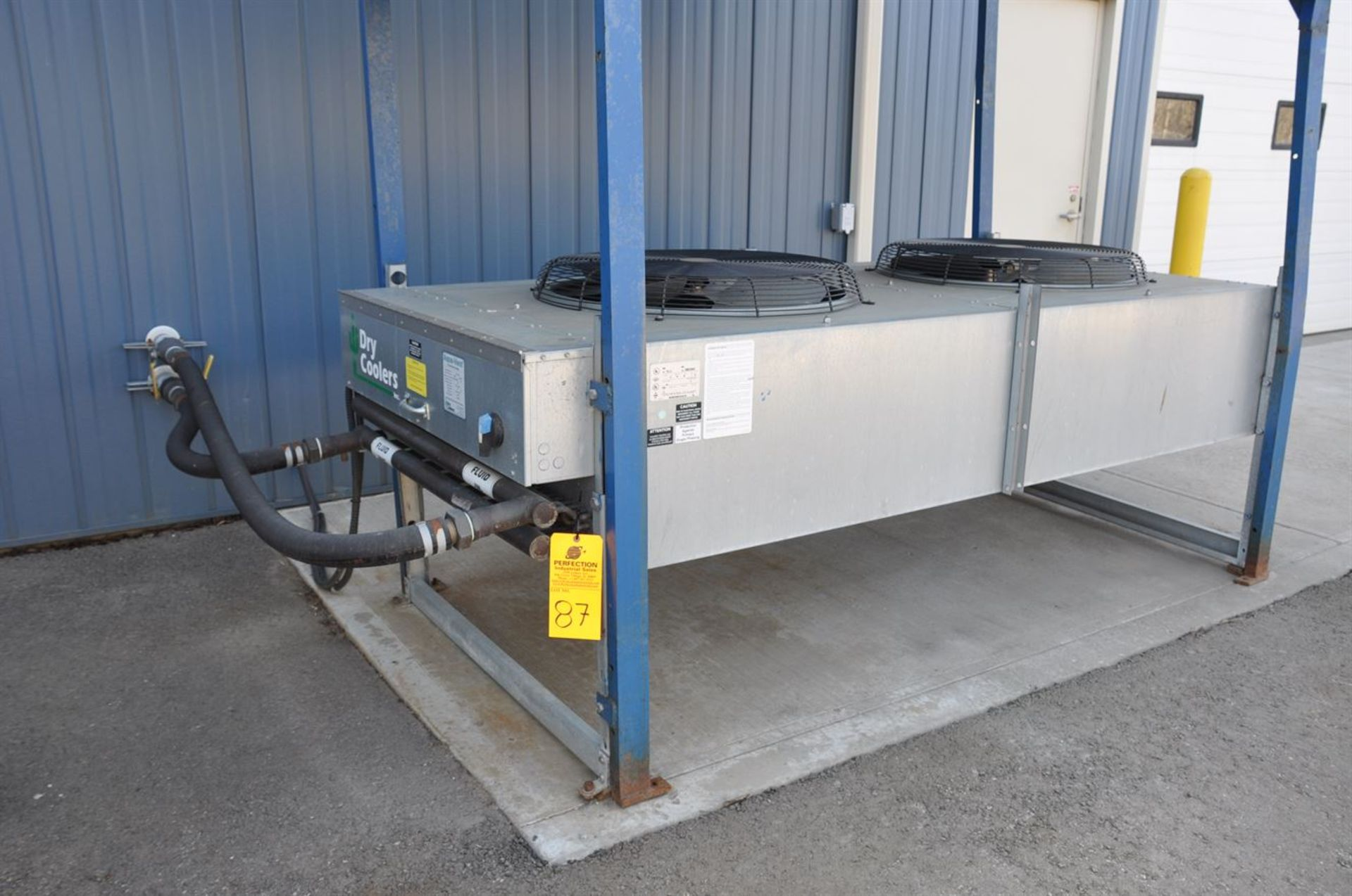 2012 BONE FRONTIER COMPANY CNC TS5L 75 3-10SUM Induction Power Stress Relieving Unit, s/n 730, w/ - Image 6 of 6