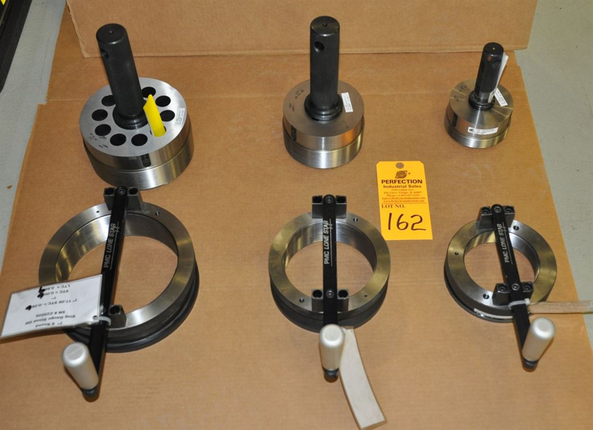 """PMC Lone Star 4.5"""", 5.5"""" and 7"""" 8-round ring and plug gages"""