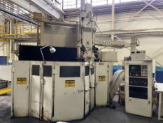 "GRAY 60"" Vertical Turret Lathe, s/n 10215, w/ NUMERIPATH Control, 60"" Table Dia., 5-Station"
