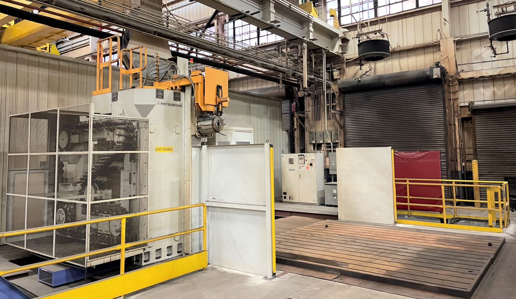 Day 1 of 4 - UNPRECEDENTED OPPORTUNITY Due to Closure of a 1M Sq Ft Locomotive Mfg Facility - MULTI-DAY | 5,000 Lots of Machines & Equipment